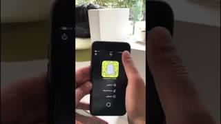 التصوير بـ البورترية iPhone 7 و الرفع على SnapChat