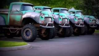 Monster Truck Movie- on the set