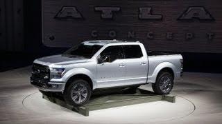 Ford Atlas Concept | 2013 Detroit Auto Show
