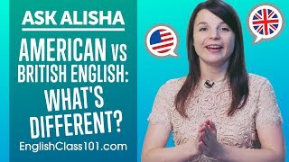 American vs British English: What