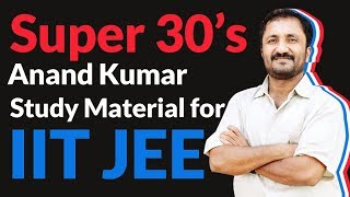 Anand Kumar Super 30 Explains Which Study Material To Choose For IIT-JEE Self Preparation