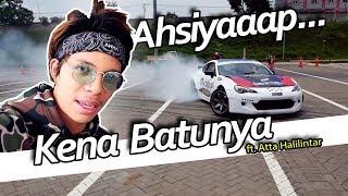 Drift Challenge with Atta Halilintar // NGANTRI BARIS