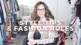 Style Tips & Fashion Rules: Trinny Woodall
