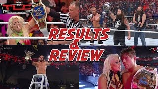 WWE TLC 2016 PPV FULL SHOW REVIEW & RESULTS NEW CHAMPIONS CROWNED