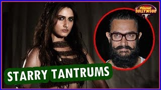 Fatima's Starry Tantrums On The Sets Of 'Thugs Of Hindostan'! | Bollywood News