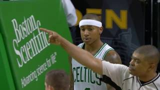 Isaiah Thomas with the H.O.R.S.E Shot After the Whistle l 11.30.16