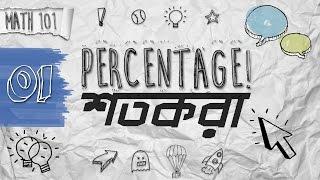 01. Math Shortcuts - Percentage (শতকরা) by Ayman Sadiq