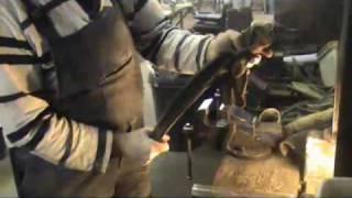 Herstellung Abbeyhorn Shoehorn