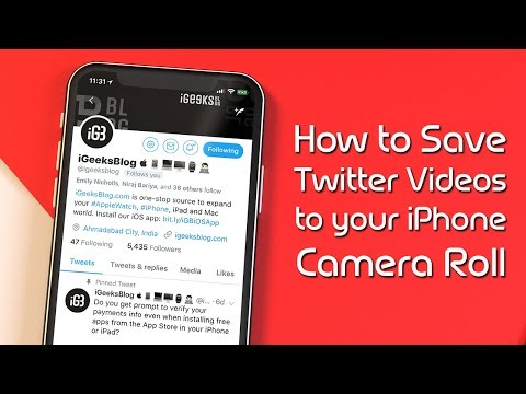 Xxx Mp4 How To Download Twitter Videos To IPhone Camera Roll Without Jailbreak 3gp Sex