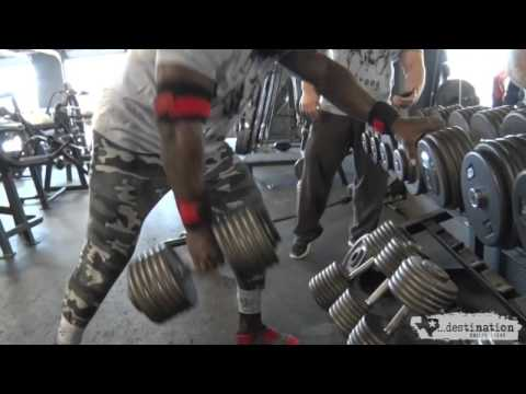 Mike Rashid, Back Workout Under the Tutelage of Josh Bryant
