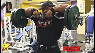 Roelly Winklaar's Shoulders Training On The Road to the Olympia 2012:  Part 1
