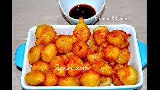 ലുഖൈമാത്തും ഈന്തപ്പഴം സിറപ്പും || sweet dumplings and dates syrup