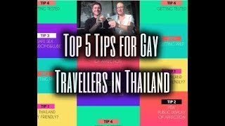 Top 5 Tips for Gay Travellers in Thailand