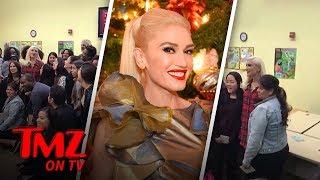 Gwen Stefani Is In The Giving Mood   TMZ TV