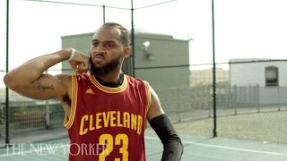 NBA Impersonator BdotAdot5 Perfectly Mimics LeBron, Curry, Westbrook & Harden   The New Yorker
