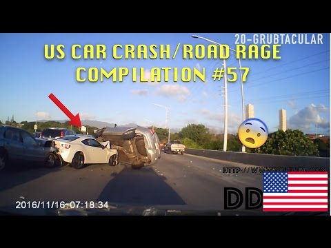 watch 🇺🇸 [US ONLY] US CAR CRASH/ROAD RAGE COMPILATION #57 [Thanksgiving Edition]