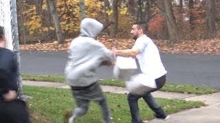 Bait Package Prank GONE WRONG (Social Experiment) - Funny Hood Pranks