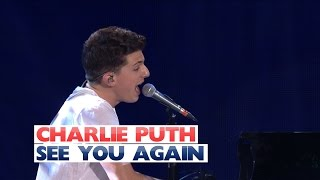 Charlie Puth - 'See You Again' (Live At Jingle Bell Ball 2015)