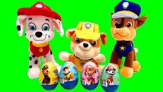 Paw Patrol Surprise Eggs Huevos Sorpresa de la Patrulla Canina Paw Patrol Toys