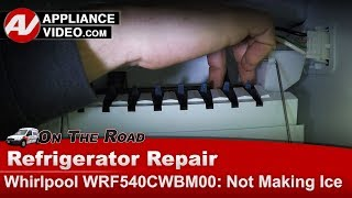 Whirlpool, KitchenAid  Refrigerator-  Not making ice - Diagnostic & Repair