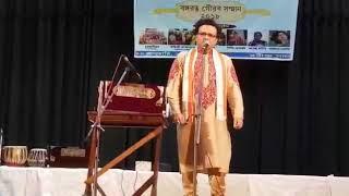 Dr. Amitabha Chanda sings