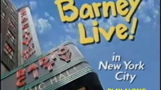 Barney Live In New York City Play Along - THE FINAL CHAPTER