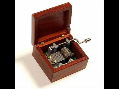 Canon in D Major music box