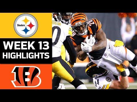 Xxx Mp4 Steelers Vs Bengals NFL Week 13 Game Highlights 3gp Sex
