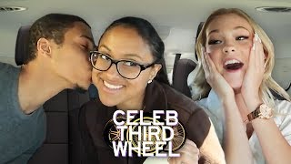 SURPRISE KISS w/ JORDYN JONES | CELEB THIRD WHEEL