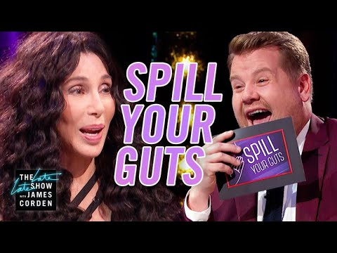 Spill Your Guts or Fill Your Guts w Cher  #LateLateLondon