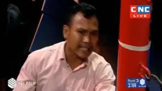 Thanh Makara Vs Pitbunmi A(Thai) CNC Khmer Boxing 9 Dec 2018
