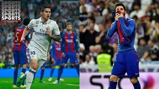 Real Madrid vs. Barcelona Fan Reactions [Messi's Stunner, Ramos Red Card and More!]