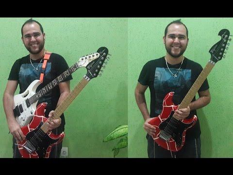 Patrick Souza testando Guitarra Tagima JA-1 (JUNINHO AFRAM)