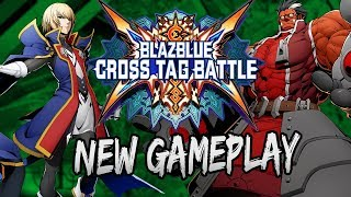 New Intros, New Outros, New Gameplay! | Blazblue Cross Tag Battle Updated Gameplay (03/16/18)