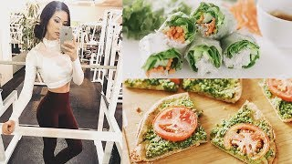 WHAT I EAT IN A DAY 🍎 Healthy, Vegan & Easy