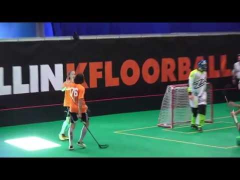 Tallink Floorball 2016 highlights from Adult Invitation tournament