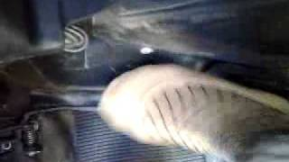 Mistress Pedal hard revving torture engine car-slave.mp4