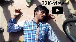 THE ACCIDENT short video by afzal khan
