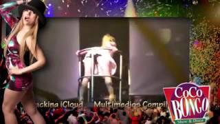 Jazmín Villarreal haciendo bailesexualen cocobongo