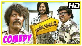 Mundasupatti Comedy Scenes   Part 3   Vishnu   Kaali Venkat   Munishkanth   Latest Tamil Comedy