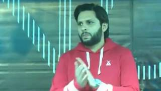 Shahid afridi foundation Hope not out fund raising event