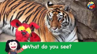 What Do You See  Song   Wild Animals   Learn English Kids