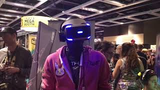 MY HILARIOUS PSVR REACTION AT PAX WEST 2017 - Stifled