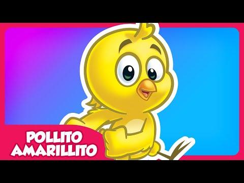 Pollito Amarillito Gallina Pintadita 1 OFICIAL videos para bebés