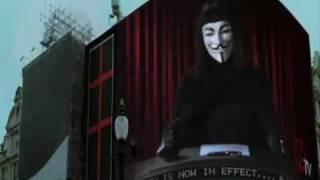 V for Vendetta: The Speech [Subtitled]