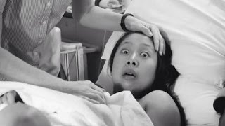 【感動】出産直後に撮られた日本人ママのこの表情が海外で話題に!一体なにがあった?