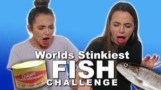 Stinky Fish Challenge - Merrell Twins