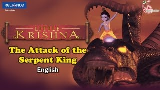 Little Krishna English - Episode 1 Attack Of Serpent King