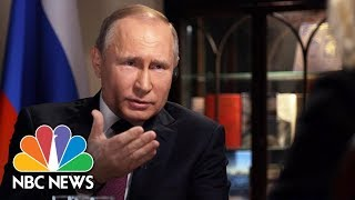 Confronting Russian President Vladimir Putin, Part 1 | Megyn Kelly | NBC News
