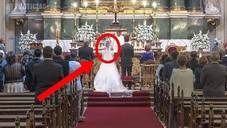 اكتشفت الخيانة في يوم زفافها وهذا كان رد فعلها أمام المدعوين